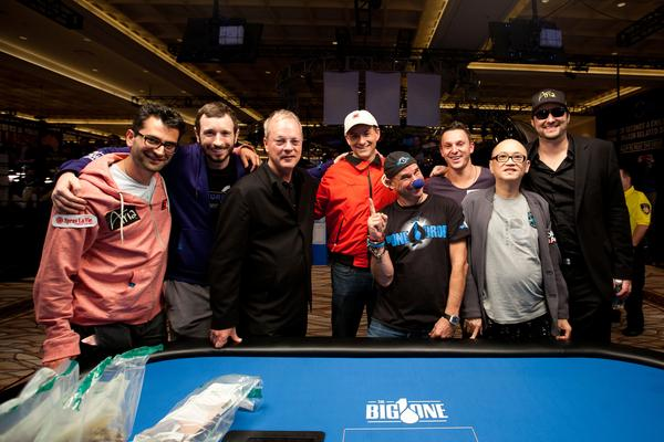 INTRODUCING EIGHT MILLIONAIRES...MEET YOUR FINAL TABLE FOR