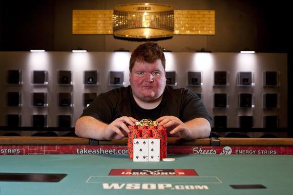 BRIAN MEINDERS KNOWS HIS LIMIT-ATIONS -- COLLECTS FIRST WSOP GOLD BRACELET