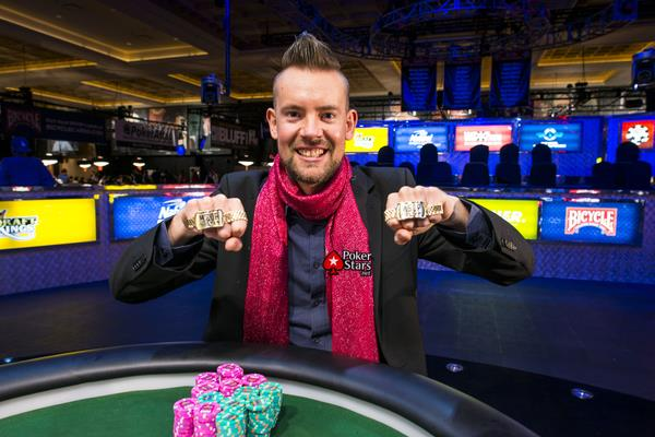 GEORGE DANZER WINS SECOND GOLD BRACELET THIS YEAR