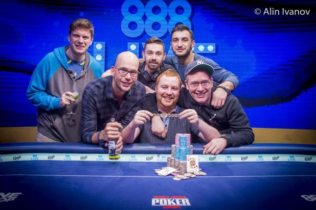 NIALL FARRELL WINS EUR25,000 HIGH ROLLER AT WSOPE