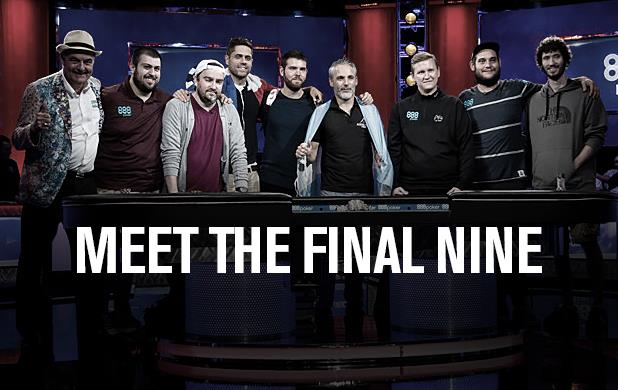MEET THE 2017 MAIN EVENT FINAL TABLE