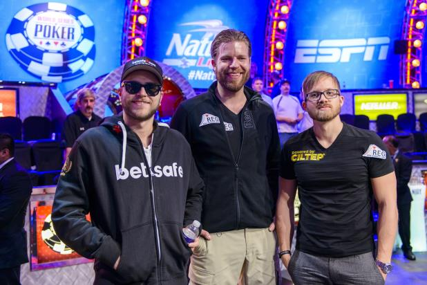 TRIO AT THE RIO REMAINS IN WSOP MAIN EVENT CHAMPIONSHIP