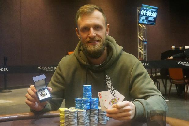 Article image for: GEDIMINAS USELIS WINS CHOCTAW HIGH ROLLER