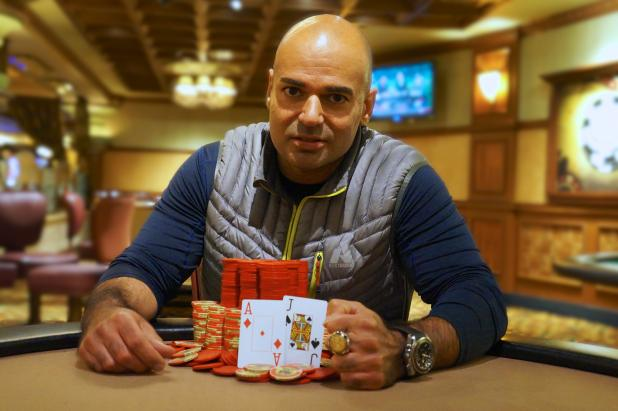 ZAL IRANI WINS HORSESHOE SOUTHERN INDIANA CIRCUIT MAIN EVENT