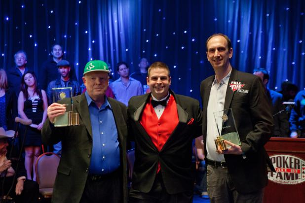 SEIDEL, HARRINGTON INDUCTED INTO THE POKER HALL OF FAME