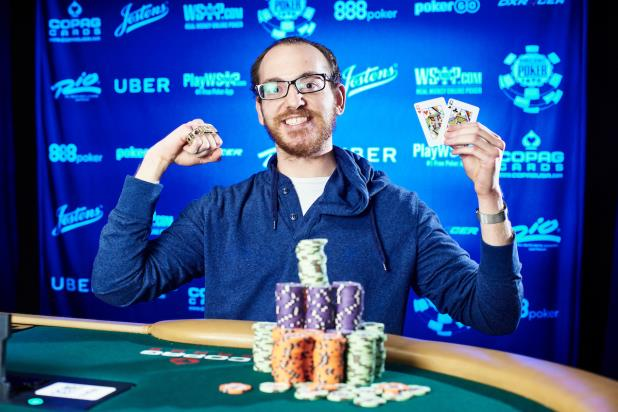 HARRISON GIMBEL SNARES BIG PAYDAY IN EVENT #68, $3,000 NO-LIMIT HOLD