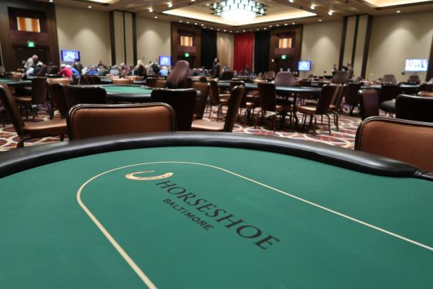 THE WSOP CIRCUIT RETURNS TO THE HORSESHOE IN BALTIMORE FOR 13 EVENTS