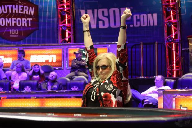 Allyn Wins Her All-in