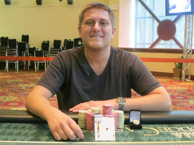 ERIC BLAIR WINS MAIN EVENT AT THE LODGE