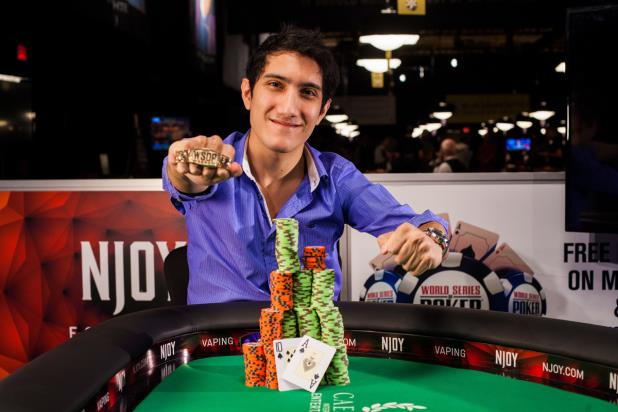 Article image for: FRANCO IVAN LUCA BECOMES FIRST WSOP WINNER EVER FROM ARGENTINA
