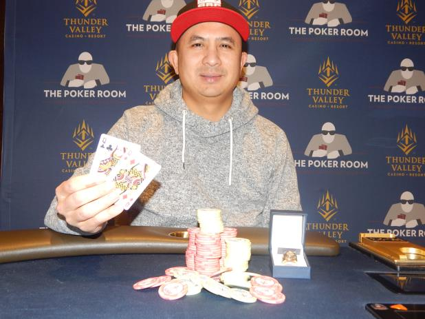 Article image for: J.C. TRAN WINS THUNDER VALLEY CIRCUIT HIGH ROLLER