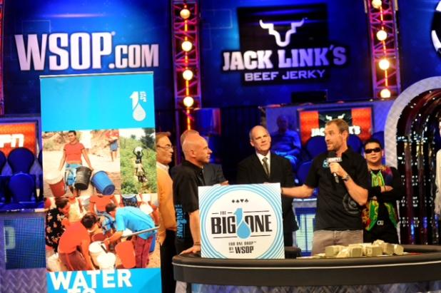 ONE DROP DESIGNATED AS AN OFFICIAL CHARITY OF WSOP
