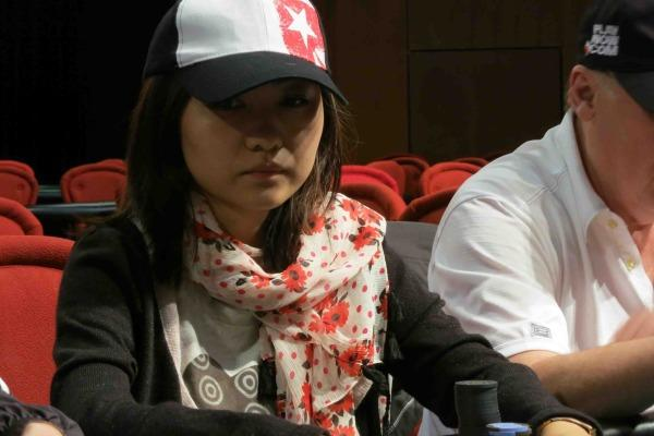 Article image for: JINGJING LIU SETS THE PACE IN RIVER ROCK MAIN EVENT DAY 1B