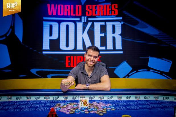 JACK SINCLAIR WINS WSOP EUROPE MAIN EVENT