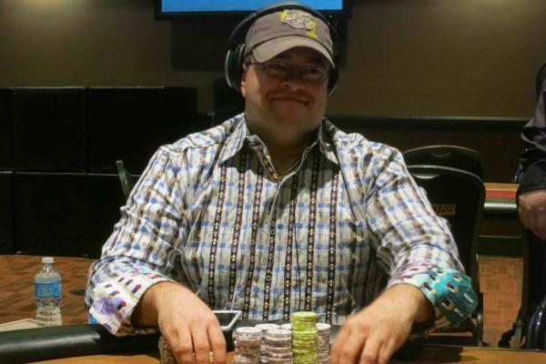 JEFF FIELDER IS ALL SMILES AT CHOCTAW RESORT