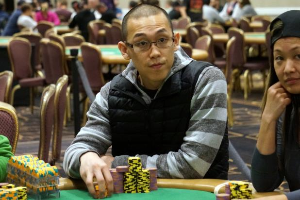 JEFFREY KIM LEADS FINAL 23 AT BALLY