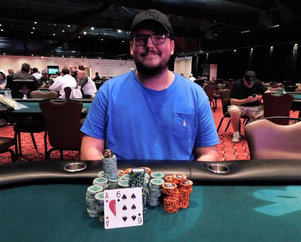 JEFFREY TRUDEAU IS THE WINNER OF THE SEMINOLE COCONUT CREEK HIGH ROLLER