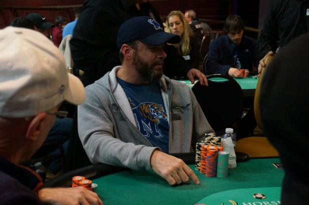 JEREMY DREWERY LEADS THE WAY HEADED INTO DAY 2 IN TUNICA