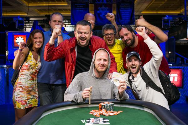 JESSE MCEUEN ANTES UP AND WINS GOLD BRACELET