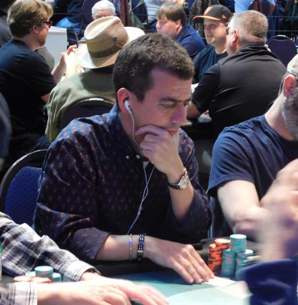 JIM NAIFEH LEADS TUNICA MAIN EVENT GOING INTO FINAL DAY