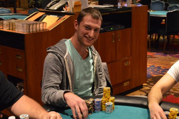 Article image for: JOEY WEISSMAN LEADS FLIGHT A OF HARVEYS MAIN EVENT