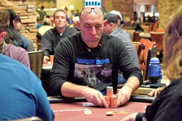JOHN CHASE LEADS THE FINAL TABLE OF THE THUNDER VALLEY MAIN EVENT