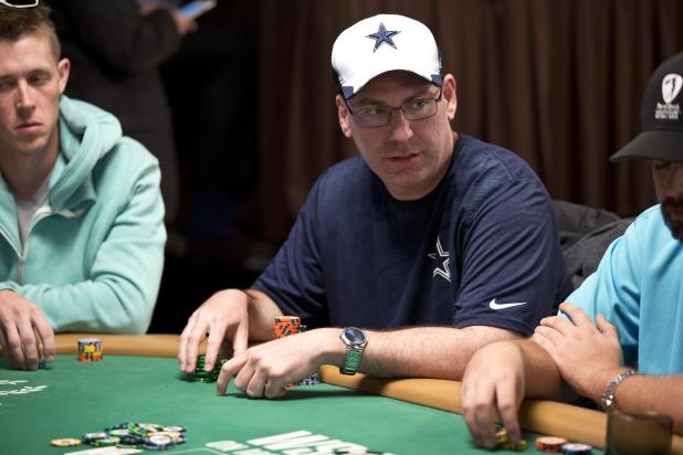 Article image for: JOHN GORSUCH LEADS MAIN EVENT AFTER DAY 1