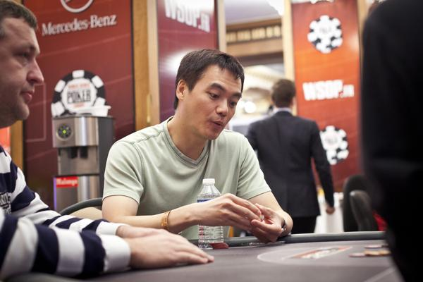 Article image for: JOHN JUANDA OUT FRONT EARLY IN 50K HIGH ROLLER EVENT