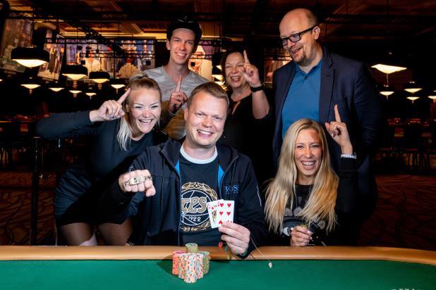 JUHA HELPPI WINS FIRST WSOP BRACELET IN $10,000 LIMIT HOLD