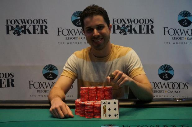 JULIAN SACKS WINS MAIN EVENT AT FOXWOODS CIRCUIT