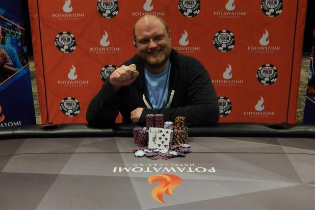 KEVEN STAMMEN WINS POTAWATOMI MAIN EVENT