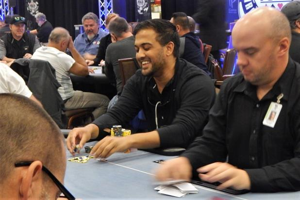 KEVIN PATEL TAKES MASSIVE CHIP LEAD INTO DAY 2 OF IP BILOXI MAIN EVENT