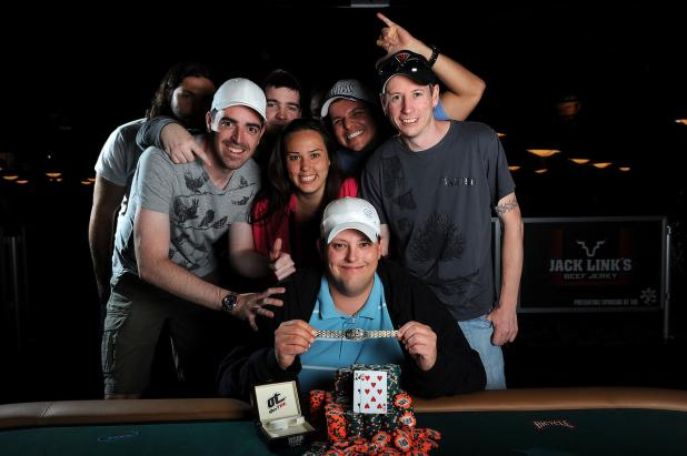 Article image for: CANADA's CALDWELL CLAIMS $668,276 WITH WSOP EVENT #32 VICTORY