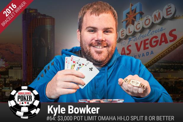 KYLE BOWKER WINS PLO HIGH-LOW SPLIT GOLD BRACELET