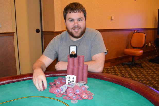 Article image for: KYLE BOWKER WINS FIRST CIRCUIT RING AT HARRAHS PHILADELPHIA