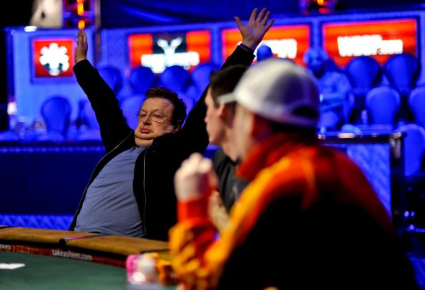 PAYING HIS DUES.  LENNY MARTIN WINS 1ST WSOP GOLD BRACELET AFTER 25 YEARS IN THE GAME