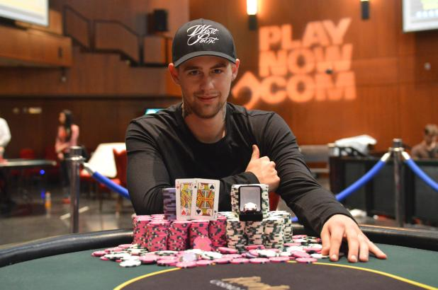 Article image for: LINCOLN MILNE WINS RIVER ROCK MAIN EVENT