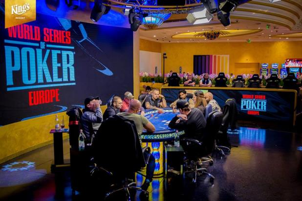 WSOP EUROPE LIVE STREAMING SCHEDULE