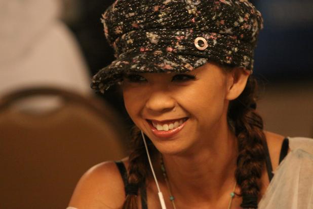 Liz Lieu in the $1,500 Limit Hold