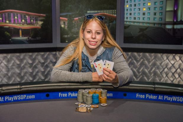 Article image for: LONI HARWOOD WINS WSOP NATIONAL CHAMPIONSHIP AND $341K