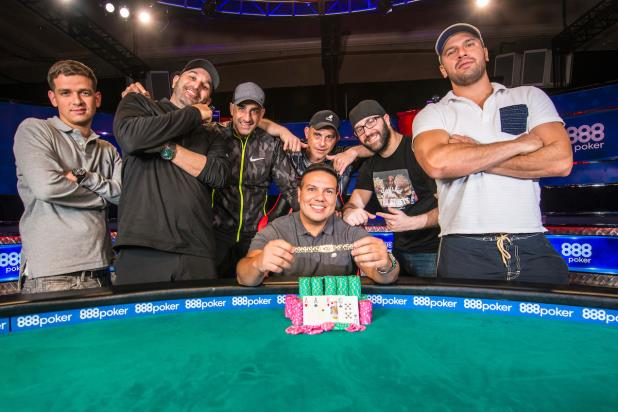 LUIS CALVO CLAIMS GOLD IN EVENT #49, POT-LIMIT OMAHA 6-HANDED