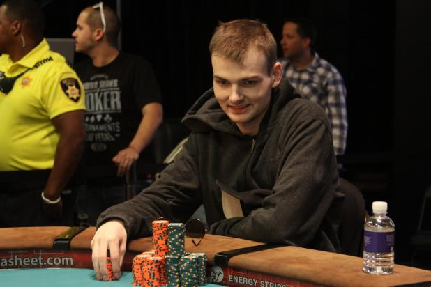 SIMON CHARETTE WINS $3,000 NLH SIX-HANDED EVENT