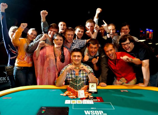 MAXIM LYKOV BESTS 4,576 PLAYER FIELD TO WIN $648,880 AND 1ST GOLD BRACELET