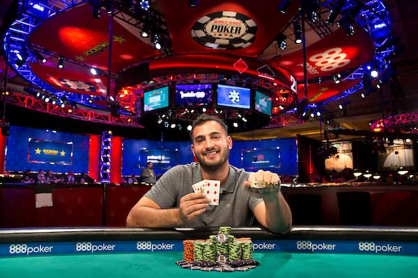 MARIO PRATS GARCIA WINS $1,000 BIG BLIND ANTE NO-LIMIT HOLD