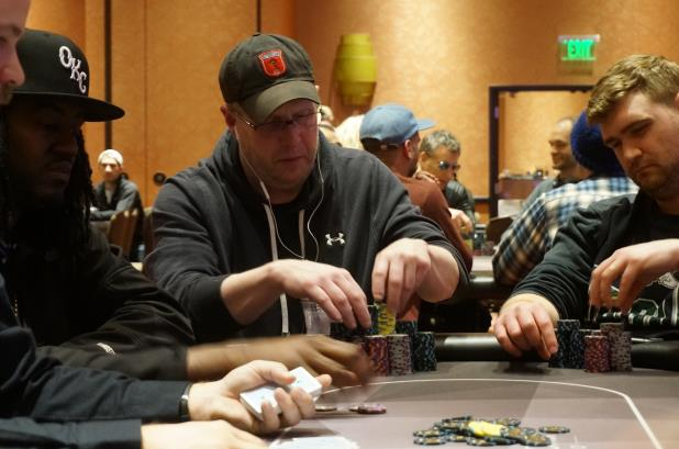 MARK KROON LEADS HEADING INTO DAY 2 OF POTAWATOMI MAIN EVENT