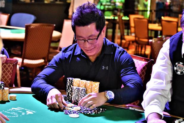 MARK JUN LEADS AT THE END OF DAY 1B OF THE RIO MAIN EVENT