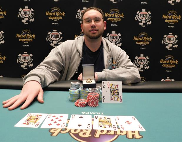 MARK ZULLO WINS SEMINOLE HARD ROCK TAMPA $3,250 HIGH ROLLER FOR $89,150