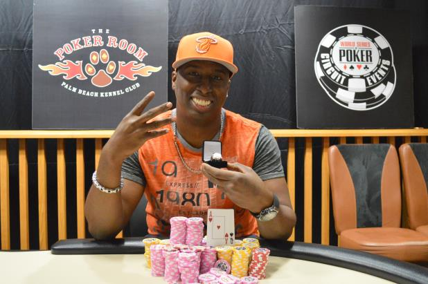 Article image for: MAURICE HAWKINS WINS $183,498 AND FOURTH WSOP CIRCUIT RING