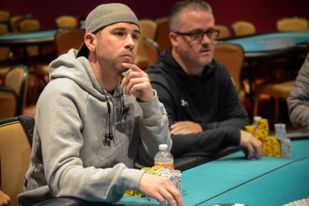 Article image for: MICHAEL HUBBARD LEADS 54 PLAYERS ENTERING DAY 2 OF THE HARVEYS LAKE TAHOE MAIN EVENT