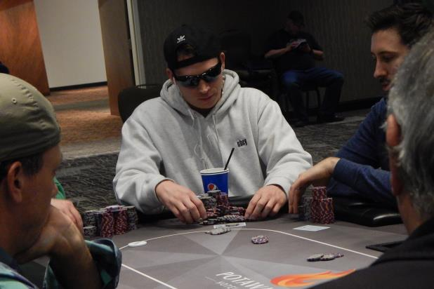Article image for: MICHAEL HUDSON HOLDS BIG LEAD AT THE POTAWATOMI MAIN EVENT FINAL TABLE